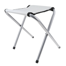 TOP!-Portable Folding Chair Lightweight Aluminium Alloy Fishing Stool for Camping Barbecue Picnic