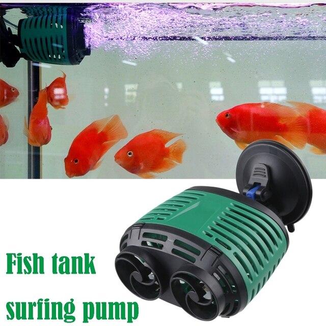 Aquarium Wave Pump Silent Mini Air Valve Wave Maker Fish Tank Surf Submersible  1