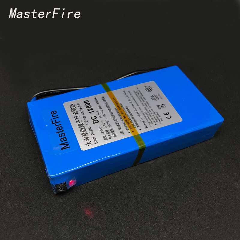 MasterFire <font><b>DC</b></font> 12V 8000MAH Super Rechargeable Battery Over Charge Backup Lithium-ion Batteries Pack For CCTV Camera <font><b>DC</b></font> <font><b>12800</b></font> image