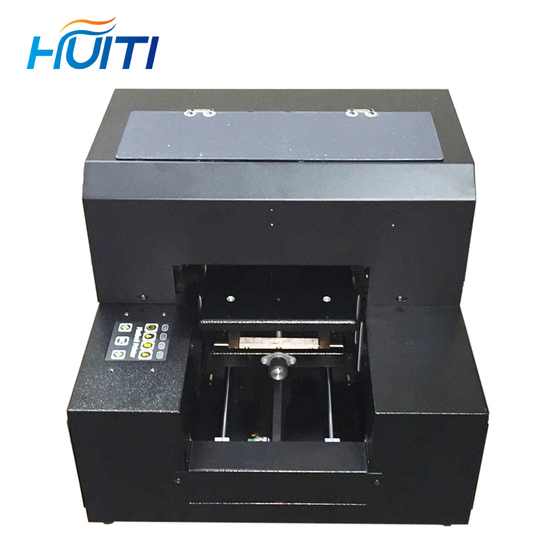 Huiti,Fully Automatic 3D Embossed UV Printer A4 Small Flat Print Mobile Phone Shell Acrylic Leather Printer
