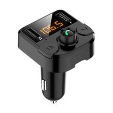 Zestaw samochodowy odtwarzacza MP3 ładowarka USB nadajnik FM zestaw głośnomówiący Bluetooth 5.0 dla Dodge calibre Challenger Ram 1500 2500 podróż Durango