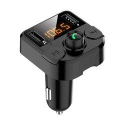 MP3 odtwarzacz samochodowy ładowarka USB nadajnik FM Bluetooth 5.0 dla BMW G30 E39 E90 E60 E36 F30 F10 E34 E30 Mini Cooper Audi A4 A3 w Naklejki samochodowe od Samochody i motocykle na