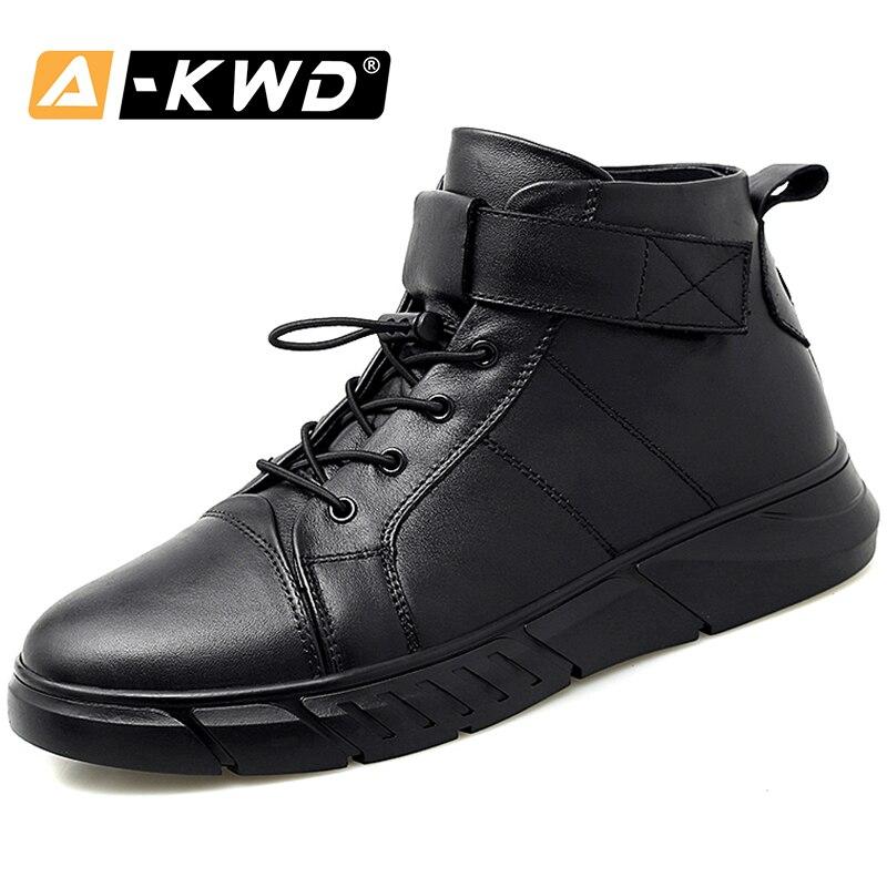 High Quality Fashion Black Fur Mens Winter Footwear High Tops Sneakers Homens Wear Resistet Luxury Sneakers Men Plus Size 38-48