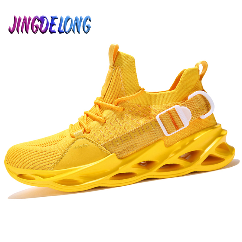 2020 New Summer Breathable Men's Casual Shoes Candy Colors Men Sneakers Comfortable Men's Running Shoes Fashion Man Casual Shoes