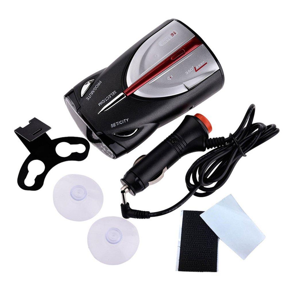 12V 16 Band Cobra XRS 9880 Laser Anti Radar Car Detector 360 Degree Led Display Police Speedometer Voice Alert/Alarm Laser