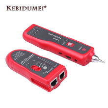 Горячая Распродажа RJ11 RJ45 Cat5 Cat6 трекер телефонного провода Тонер-трассировщик Ethernet LAN Сетевой кабель тестер детектор Line Finder