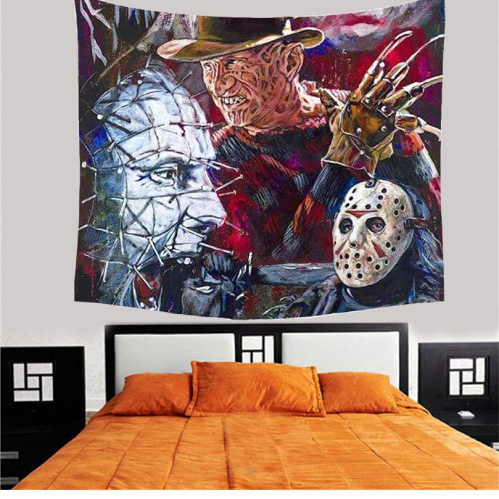 Home Decor Wall Hanging Tapestry Horror Movie Bohemian Friday Beach Towel