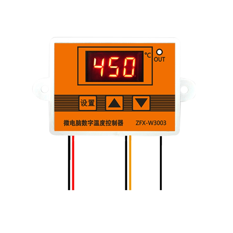 3003 12V 24V 220V LED Microcomputer Digital Display Temperature Controller Thermostat Intelligent Time Controller Adjustable Ele