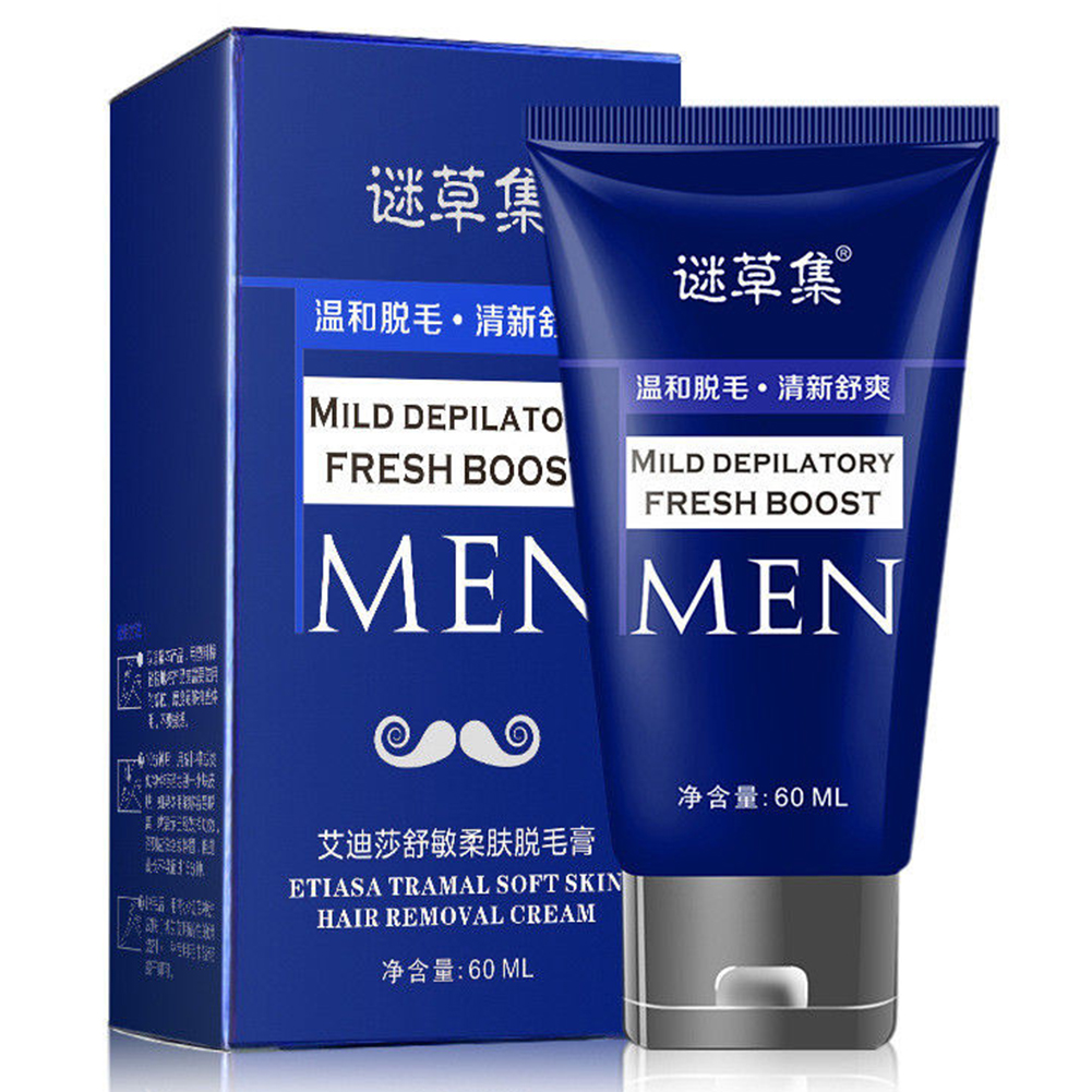 Men Body Depilatory Leg Hand Quickly Hair Removal Cream Loss Effective