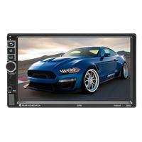 8802 7 inch Screen Bluetooth Car Stereo Android 8.1 GPS Nav WiFi USB Radio Reversing Image Bidirectional Heat Dissipation