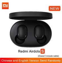 Xiaomi redmi airdots s tws bluetooth 5.0 xiaomi airdots 2 ture faltas de uso sem fio com microfone controle de i