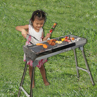 Profession Production BBQ Stainless Steel Charcoal Oven Outdoor Folding Oven Folding Grill 5 People Or above Grill