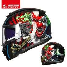 Orijinal LS2 FF390 tam yüz moto döngüsü kask ls2 kesici kask casque moto capacete ile sis ücretsiz sistem