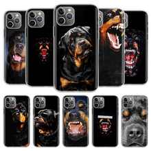 Phone-Case Tpu-Cover Rottweiler 6s-Plus 12 Mini for 11 Pro XS MAX XR 5S Eleven Art Art