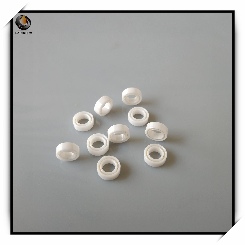 1Pcs MR74 Full Ceramic Bearing  4x7x2.5 Mm  ABEC-9 Full Ceramic ZrO2 Sealed Ball Bearing