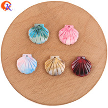 Cordial Design 19*19mm 100Pcs Jewelry Accessories/DIY Making/Earrings Connectors/Shell Shape/Charms/Hand Made/Earring Findings