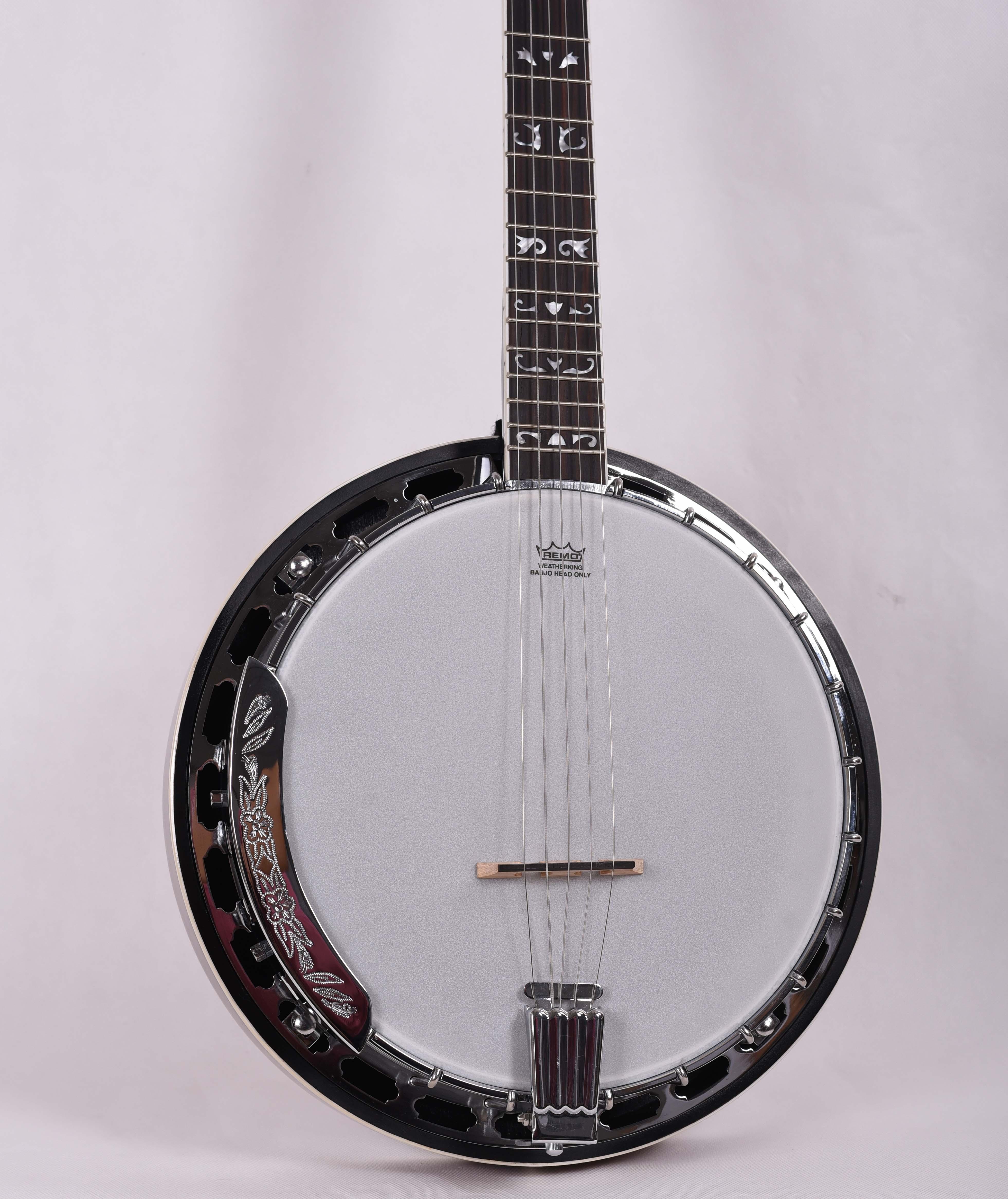 Feeling 5 струн открытый белый нефрит банджо музыкальный инструмент FBJ-17