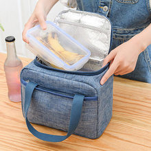 NEW Thermal Insulated Lunch Bag Waterproof Food Storage Leakproof for School Camping(China)