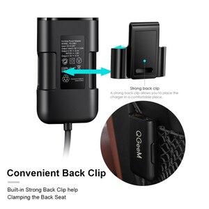 Image 3 - QGEEM 4 USB QC 3,0 Автомобильное зарядное устройство Быстрая зарядка 3,0 Автомобильное быстрое переднее зарядное устройство адаптер автомобильное портативное зарядное устройство разъем для iPhone