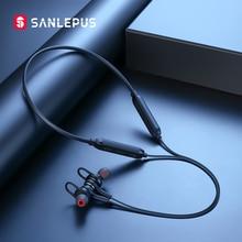 Sanlepus fones de ouvido sem fio 5.0 bluetooth esporte correndo fones estéreo handsfree telefone fone para apple android