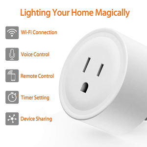 Image 3 - Smart Plug, Rdxone Mini WiFi Outlet Works with Alexa, Google Home,   Only Supports 2.4GHz Network