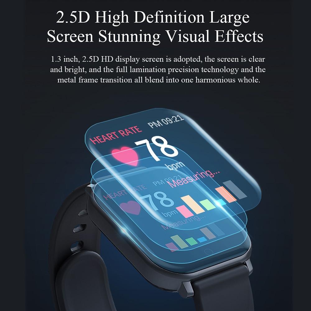 T55 Smart Watch Heart Rate Blood Pressure Fitness Wristband Sports Waterproof Pedometer Smartwatch For Apple IPhone Xiaomi Pakistan
