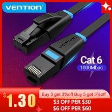 Vention kabel Ethernet Cat6 przewód Lan UTP RJ45 sklejka sieciowa kabel 10m 15m dla PS PC Internet Router modemu Cat 6 kabel Ethernet