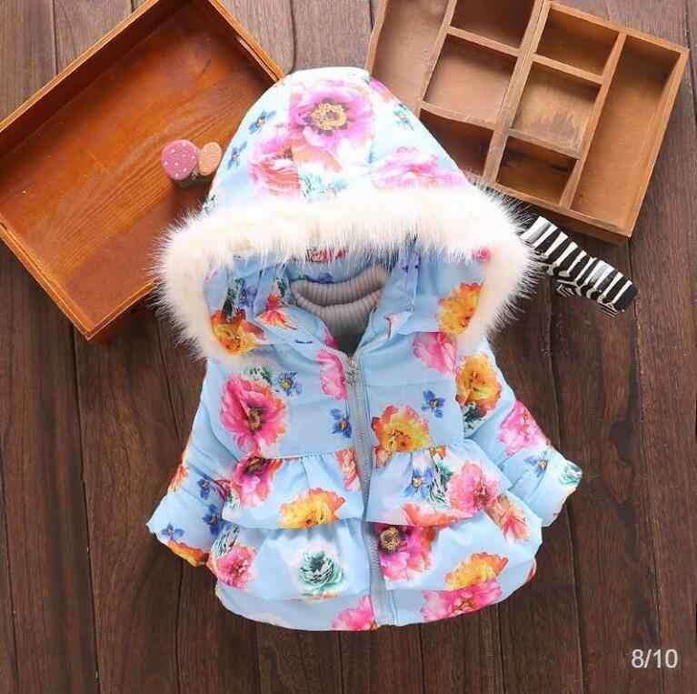 Niños bebé chica ropa de invierno cálido abrigos chaqueta 2019 chico cremallera gruesa Sudadera con capucha prendas de vestir exteriores ropa overoles de invierno