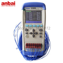 Anbai AT4208/AT4204/AT4202 Multi-channel Temperature Data Logger with 3.5 Inches TFT-LCD Display
