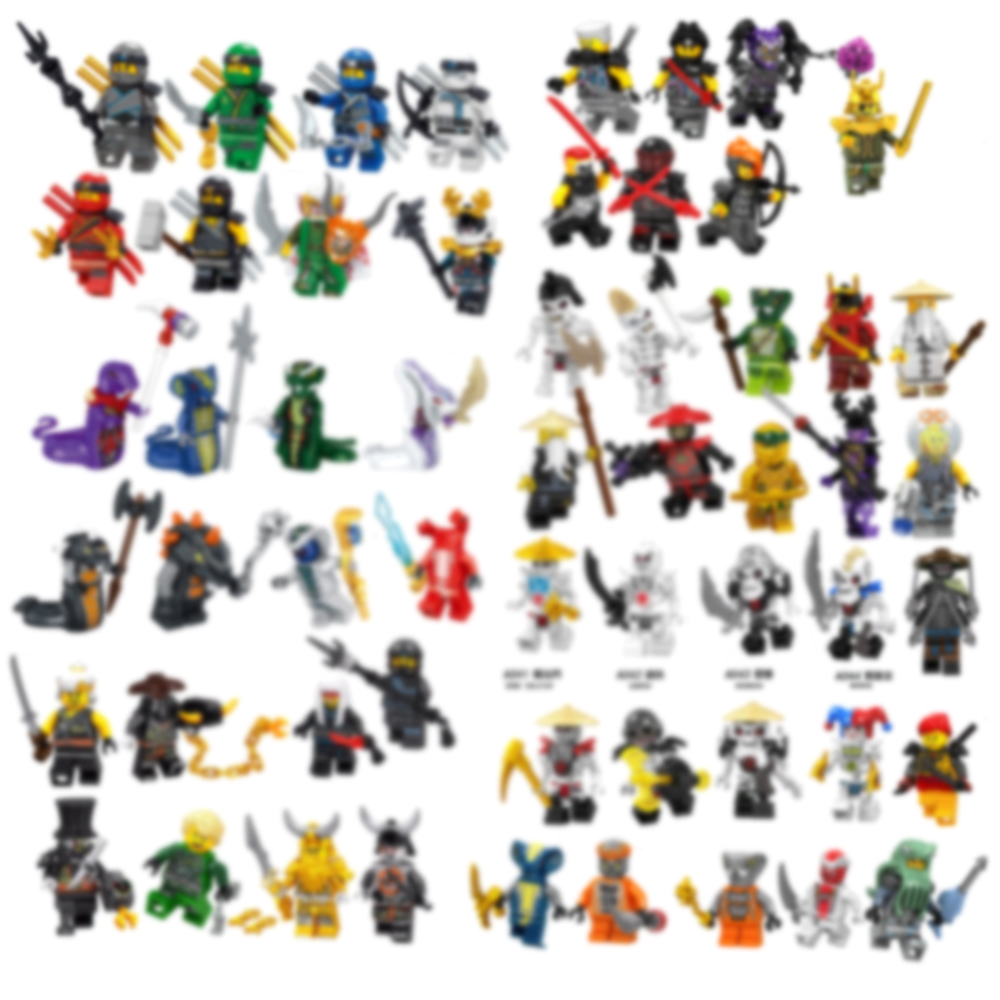 Mini Figures Ninja Weapons Action Accessorie Building Blocks Kids Toy Gift Compatible Toys For Children