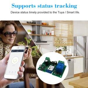 Image 4 - Tuya WiFi Switch Wireless Relay Module APP Remote Control Voice Control for Google Home Amazon Alexa Intelligent Remote Switch