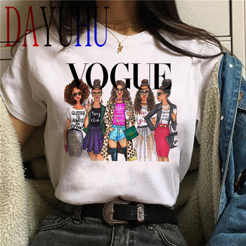 Vogue Princess Kawaii Harajuku T Shirt Women Ullzang Cute T-shirt Grunge Aesthetic Graphic Tshirt 90s Fashion Top Tees Female