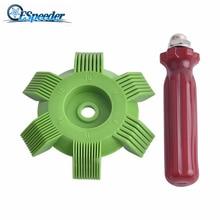 ESPEEDER Универсальный Автомобильный A/C радиатор конденсатор Ребро испарителя выпрямитель гребень для змеевика пластик авто система охлаждения Ремонт Инструменты