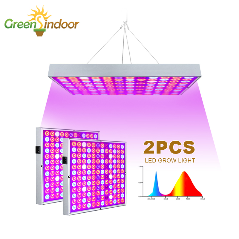 2pcs Full Spectrum LED Grow Light Phyto Lamp For Plant Red Blue UV IR White LED Grow Tent Lamp Fitolamp Professional Lighting