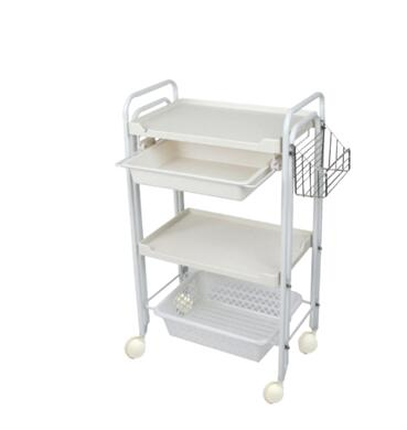 Beauty Salon, Manicure Instrument Cart, Three-layer Tool Cart, Rack Rack, Hair Salon, Ironing And Dyeing Cart.