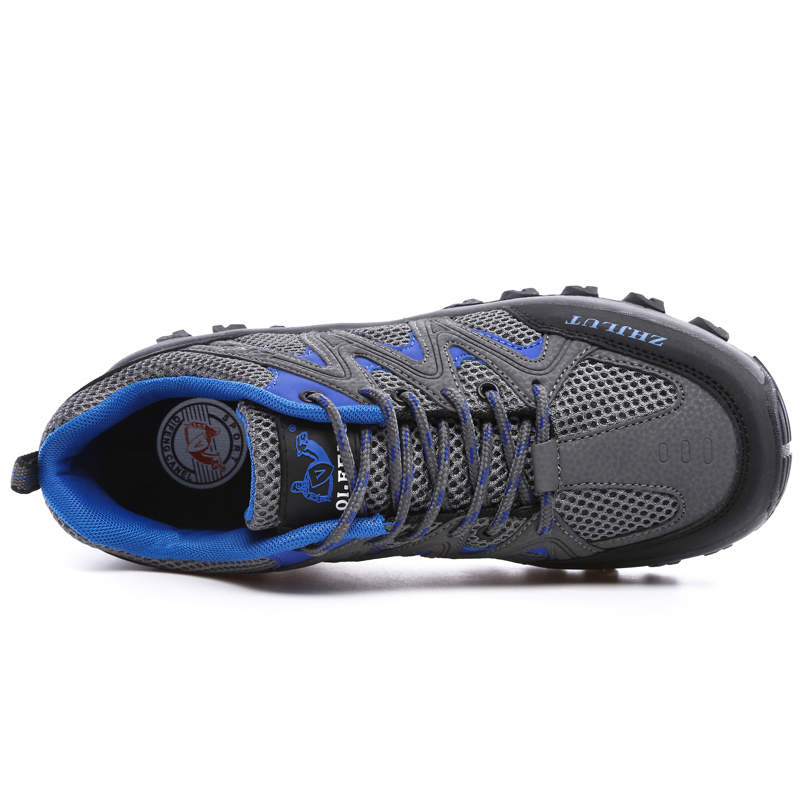 Image 4 - Men Mesh Casual Shoes Women Outdoor Sports Breathable Summer Wear Resisting Trekking Footwear Climbing light hiking Shoes ManMens Casual Shoes   -