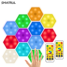 Cabinet-Light Touch-Sensor Wireless Dimming Remote-Decoration-Control SMATRUL LED RGB