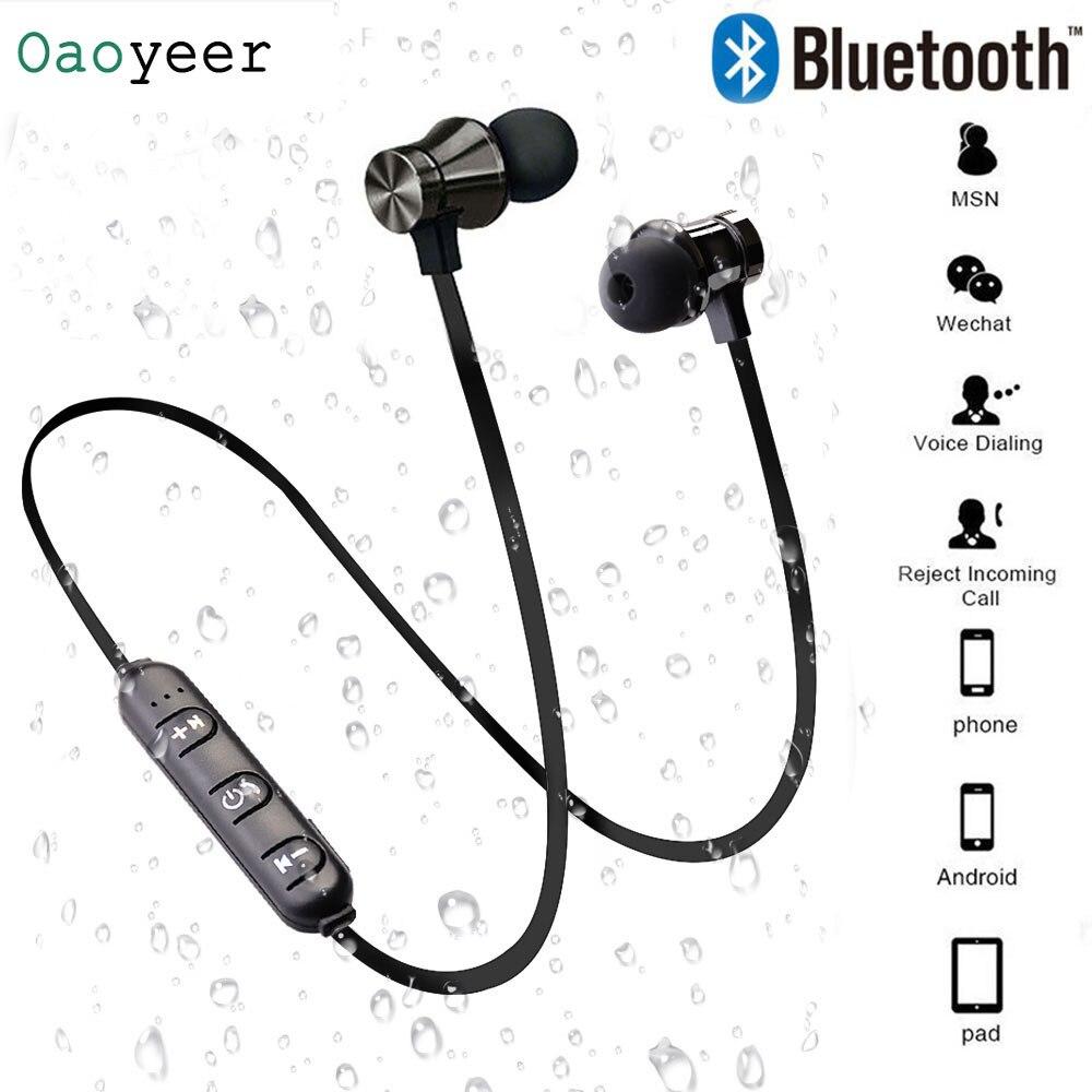 Wireless Bluetooth Earphone XT11 Magnetic Sport Running Wireless Bluetooth Headset For IPhone 6 8 X 7 Xiaomi Hands Free