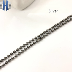 Image 4 - 3.0*650mm Pure Titanium Bead Chain Metal Wave DIY Accessories Sweater Chain Does Not Rust Light Hypoallergenic EDC Bead Chain