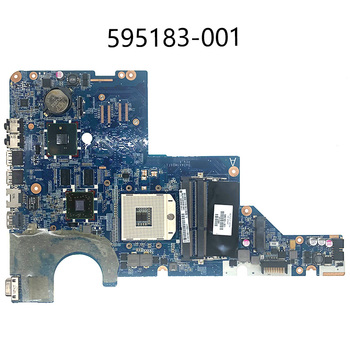 595183-001 for HP motherboard HP motherboard CQ42 G42 G62 CQ62 laptop motherboard DAOAX1MB6F0 DA0AX1MB6H0 100% original