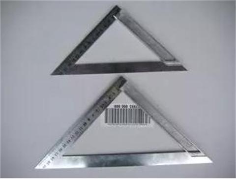 Cast Aluminum Alloy Wood Triangle Ruler L-square