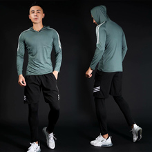 Men's Sportswear Compression Suits Training Clothing Set Training Jogging Sports Running Workout Gym Tights Dry Fit Plus Size men s compression sportswear suits gym tights training clothes workout jogging sports set running tracksuit dry fit plus size