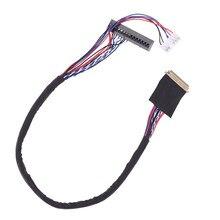 1 шт. Новое поступление 40 Пин 1 канал 6 бит светодиодный ЖК-дисплей LVDS Экран кабель для Дисплей