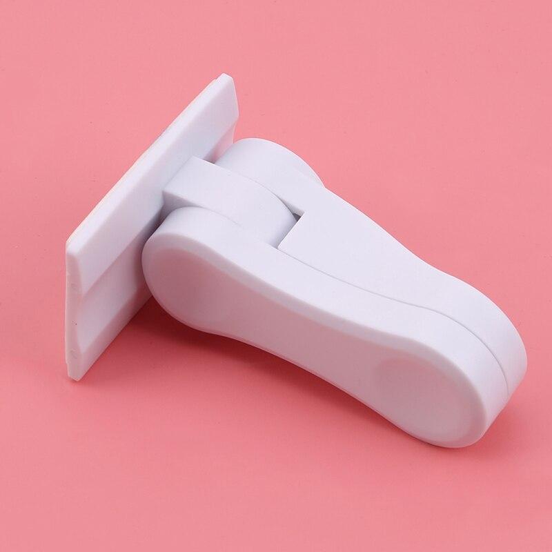 Plastic Child Safe Security Window Door Sash Lock Safety Lever Handle Sweep Latch Hardware Locks