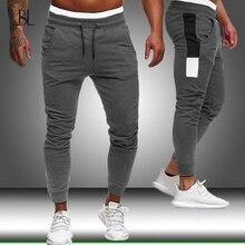 Pants Bodybuilding Slim-Fit Men's Joggers Men Sport Trousers Streetwear Male