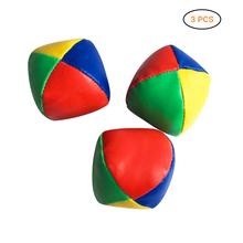 3 sztuk partia piłki do żonglerki nauczyć się żonglować początkujący zestaw cyrk zabawy na świeżym powietrzu dzieci dzieci kulki do zabawy dla dzieci zabawki interaktywne tanie tanio FGHGF Juggling Balls 5-7 lat 8-11 lat 12-15 lat Dorośli 6 lat 8 lat Unisex Other Sport use safe