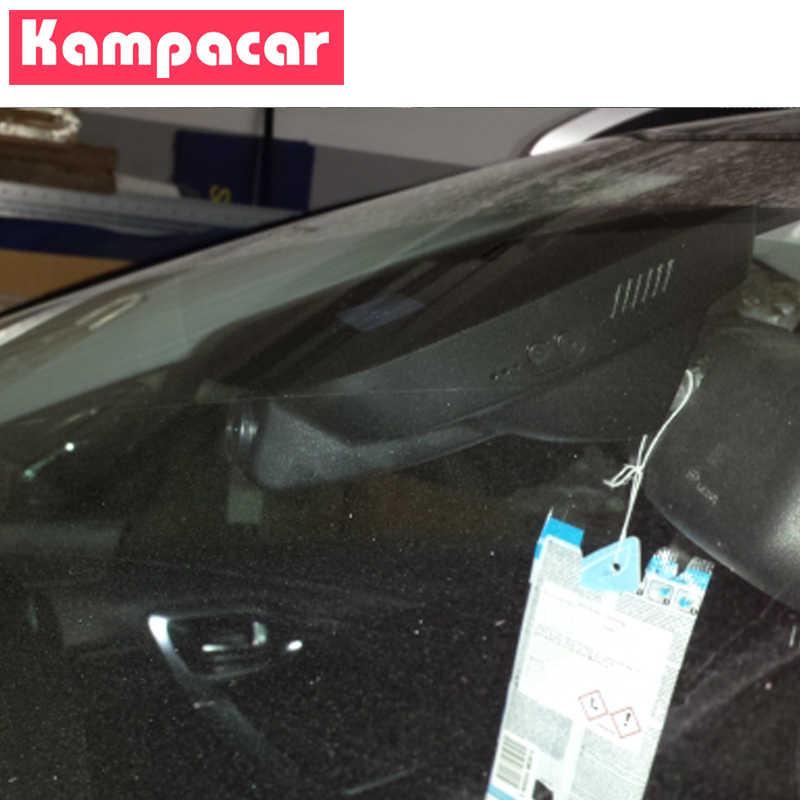 Kampacar Novatek 96658 wifi w samochodzie DVR kamera na deskę rozdzielczą podwójne aparaty rejestrator samochodowy dla Peugeot 2008 208 Allure 2013 do 2018 2019 rejestratory samochodowe