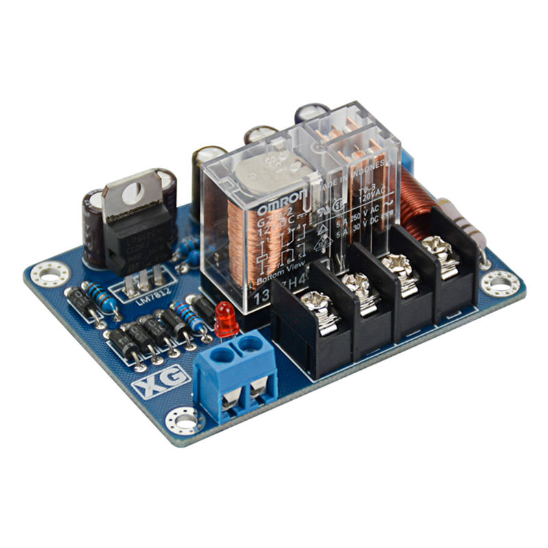 2Pcs Audio Speakers Protect Board Mono Upc1237 Speaker Protection Board Ac9 16V Mirror Symmetrical Circuit|Operational Amplifier Chips| |  - title=