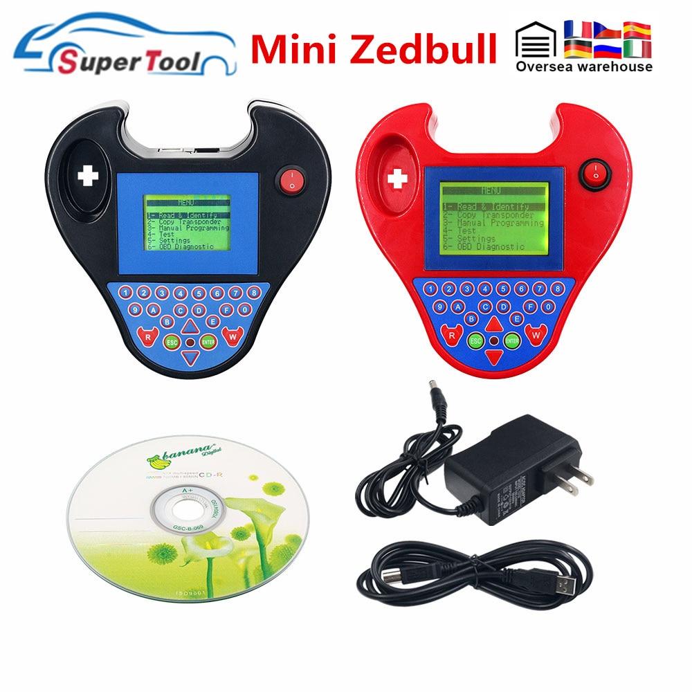 2020 v508 super mini zedbull auto programador chave inteligente mini zedbull-bull chave identificador programador obd2 carro auto zed bull chave fabricante