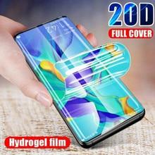 Ultra Dünne Full Coverage Weiche Hydrogel Film Für Samsung S7 S7edge S8 S8Plus S9 S9Plus Protector Für Samsung Note8 Note9 note10